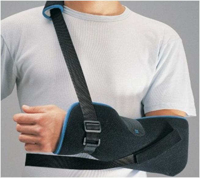 Écharpe d'immobilisation et de maintien pour bras et épaule
